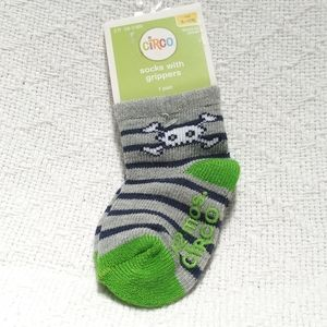 Circo for Target Pirate Stripe Socks 6-12 M